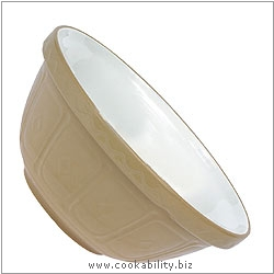 Traditional Mixing Bowls. Original product image, © Cookability