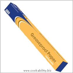 Cookability Greeseproof Paper Caterwrap. Original product image, © Cookability