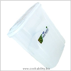 Cookability Budget Cereal Storage Container. Original product image, © Cookability