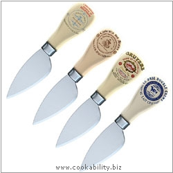 Creative Tops Cheese Knife Set. Original product image, © Cookability