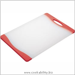 Accessories Reversible Chopping Board Red. Derived work from original images, © Thomas Plant 2008 onwards, used with permission.