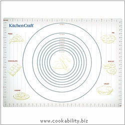 Kitchencraft Pastry Mat. Derived work from original images, © Thomas Plant 2006 and prior, used with permission.