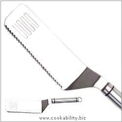 Short Handle Lasagne Turner. Original product image, © Cookability