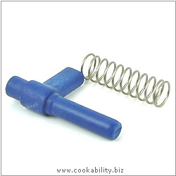 Duromatic Spares Handle Bolt and Spring. Original product image, © Cookability