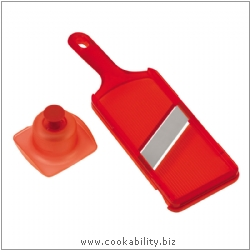 Cooks' Tools Quick Slice Mandoline Red. Original product image, © Cookability