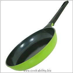 Ecolon Frypan Green. Original product image, © Cookability