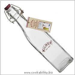 Kilner Cordial Bottle. Derived work from original images, © Rayware Ltd, used with permission.