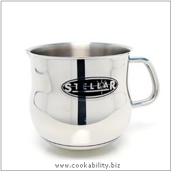 Stellar 1000 Milk / Sauce Pot. Original product image, © Cookability