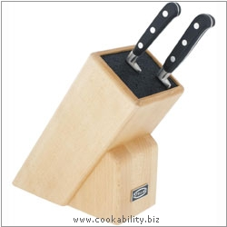 Stellar Fibre Bristle Knife Block. Derived work from original images, © Horwood Homewares Ltd, used with permission.