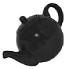 London Pottery Matt Black Teapot
