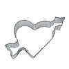 Eddingtons Heart with Arrow Cookie Cutter