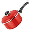Judge Red Induction Saucepan