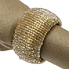 Walton & Co. Napkin Ring Set of Four Gold