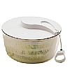 This category contains: Cooks' Tools Large Ratchet Salad Spinner, Cooks' Tools Medium Salad Spinner,