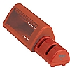 Cooks' Tools Dual Knife Sharpener Red