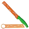 This category contains: Short Handle Grapefruit Knife, Short Handle Cheese Knife, Colori 1 Flexi Spatula Knife Green,