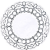 Easybake White Paper Lace Doyleys