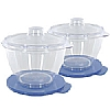 Microwave Mini Pots with Storage Lids