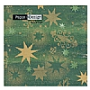 Triple-Ply Stars Forest Geen Napkins