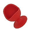 Egg Chair Silicone Red