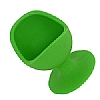 Egg Chair Silicone Green