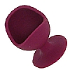 Egg Chair Silicone Aubergine