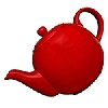 London Pottery Red Teapot