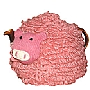 Farmyard Crazy Knitted Pig Tea Cosy