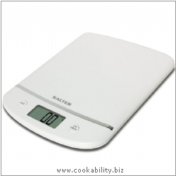 Salter Aquatronic Electronic Kitchen Scale. Original product image, © Cookability