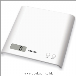 Salter ARC Electronic Kitchen Scale. Original product image, © Cookability
