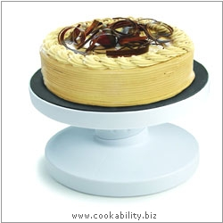 Tala Tilting Turntable Cake Stand. Original product image, © Cookability