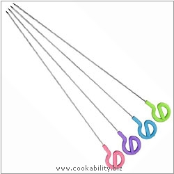 Tala Stainless Steel Skewers. Original product image, © Cookability