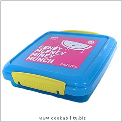 BPA Free Single Sandwich Container. Original product image, © Cookability
