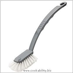 Cookability Fantail Brush Silver. Original product image, © Cookability