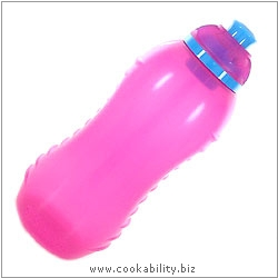 BPA Free Squeeze Bottle. Original product image, © Cookability