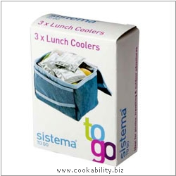 BPA Free Mini Lunch Box Coolers. Derived work from original images, © Dexam International Ltd, used with permission.