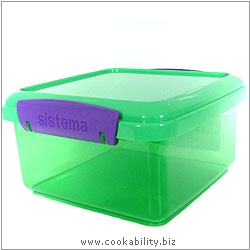 BPA Free Lunch Container. Original product image, © Cookability