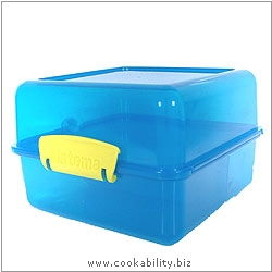BPA Free Large Split Lunch Container. Original product image, © Cookability