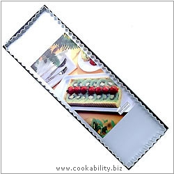 Silver Anodised Rectangular. Original product image, © Cookability