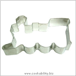 Eddingtons Train Cookie Cutter. Original product image, © Cookability