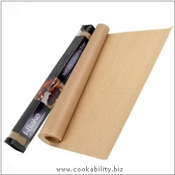 Cookability I-Bake Cooking Liner. Original product image, © Cookability