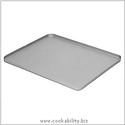 Silver Anodised Biscuit Tray. Original product image, © Cookability