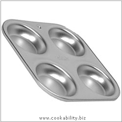 Silver Anodised Yorkshire Pudding Tray. Derived work from original images, © Alan Silverwood Ltd, used with permission.