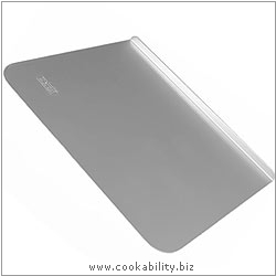 Silver Anodised Baking Sheet. Original product image, © Cookability