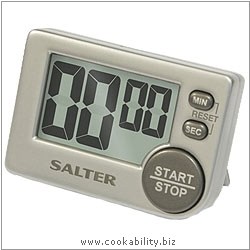Salter Big Digit Electronic Timer. Original product image, © Cookability