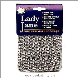 Lady Jane The Ultimate Scourer. Original product image, © Cookability