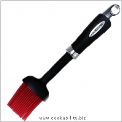 Cookability Farberware Silicone  Basting Brush. Original product image, © Cookability