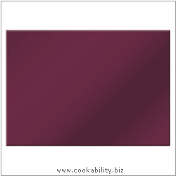 Cookability Glass Tablemats - Berry. Original product image, © Cookability