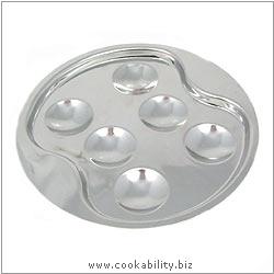 Cookability Snail Plate 6 Cup. Original product image, © Cookability