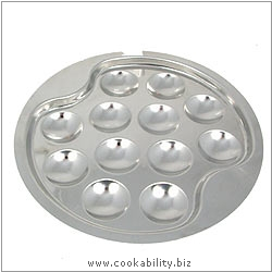 Cookability Snail Plate 12 Cup. Original product image, © Cookability